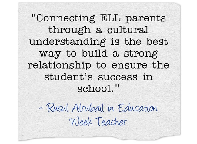 Building Relationships With Families of ELLs – Heart of a Teacher